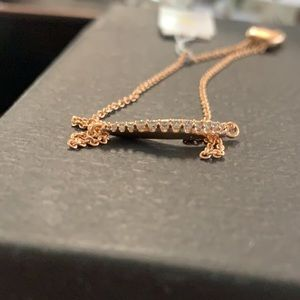Kendra Scott Rose Gold Adjustable Bracelet NWT